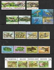 REPTILES/Turtles etc fine page of sets MINT NH