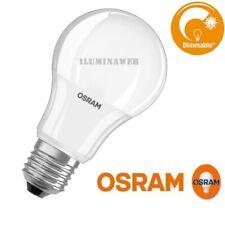 BOMBILLA E27 LED REGULABLE OSRAM PARATHOM DIM 8,5W=60w LUZ CALIDA 2700K dimmable