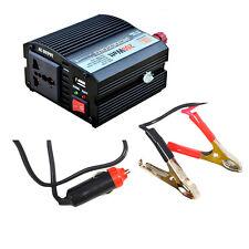200W Car Power Inverter DC 12V to AC 240V Outlet 5V USB Port