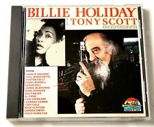 Billie Holiday with Tony Scott and his orchestra CD 1990 Near Mint