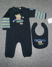 Boys' 100% Cotton Animal Print Outfits & Sets (0-24 Months)