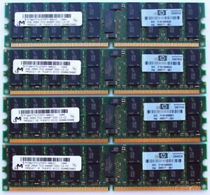 4GB 8GB 16GB 32GB Memory Ram DDR2 PC2 6400P 800 MHz 240 ECC Server Ram 2x Lot GB