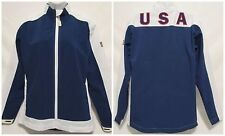 USA Women's Athletic Track Jacket Medium US Olympic 2012 Official Exclusive