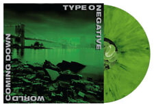 Type O Negative 'World Coming Down' DOUBLE LP Black And Green Marbled Vinyl