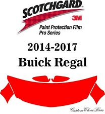 3M Scotchgard Paint Protection Film Pro Series 2014 2015 2016 2017 Buick Regal