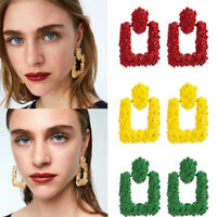Fashion Punk Dangle Geometric Big Drop Earrings Womens Statement Earring Jewelry