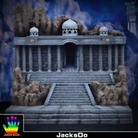 Jacksdo Saint Seiya Myth Cloth Diorama Aries Bélier Temple Limité 100