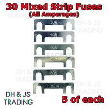 30 x Mixed Amp Strip Fuse Link Midi Diesel Glow Plug Relay Classic Car Truck TVR