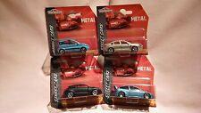 MAJORETTE X4 CARS,CITROEN C5,FIAT PANDA 4X4,FORD FOCUS WRC,RENAULT MEGANE COUPE.