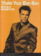 Shake Your Bob-Bon - Ricky Martin - 1999 Sheet Music
