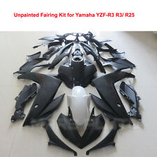 ABS Plastic Unpainted Injection Bodywork Fairing Kit for Yamaha YZF-R3 R25 2015