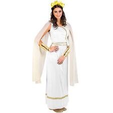 Costume da donna Dea greca olimpo regina antico toga romana costume carnevale nu