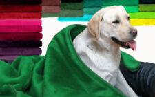 Couvertures vert pour chien
