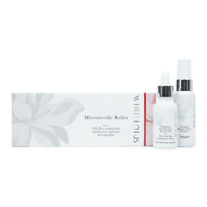 White Lotus Anti Aging Hypoallergenic Dermaroller Scar Therapy Pack for Scars
