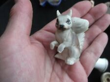 """Collectable Sweet Little Mini Handpainted Squirrel Ornament 1.75"""""""