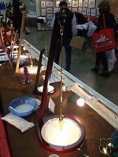 "Grand Illusions-Pit & Pendulum Art Designs in sand-Zen-NIB-Cherry gold Large 23"""