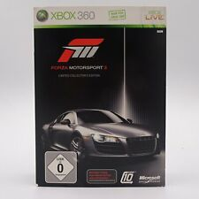 Forza Motorsport 3 Limited Collectors Edition Microsoft Xbox 360 PAL Spiel Game