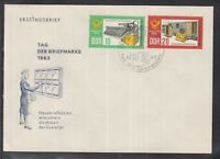 DC 02 ) DDR East Germany 1963 - Day of the stamp ; Private letter box