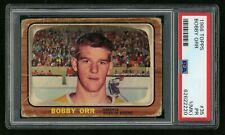 1966 TOPPS HOCKEY BOBBY ORR ROOKIE RC #35 PSA 1 (MK)