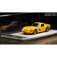 SCM [MY64] 1:64 Scale Ferrari 250GTO 1962 Yellow Car Model Limited Edition NEW