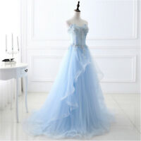 Women Long Party Prom Cocktail Ball Formal Gown Wedding Bridesmaid Evening Dress