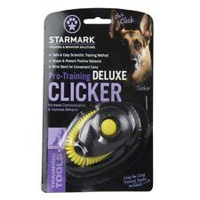 StarMark Design-New Pro Training Clicker Deluxe Wristband Ergonomic for Dog