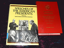 Lot 2- Speeches of the American Presidents & Inaugural Addresses Bicentinnial