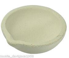"3"" White Ceramic Melting Pot For Gold/ Sliver Scrap Jewelry"