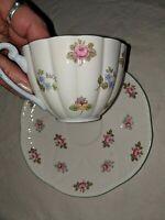 Vintage Shelley Tea Cup & Saucer Rosebud #13426 Bone China England
