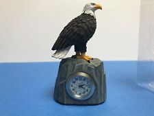 Small Eagle Quartz desk Clock / Ad#406