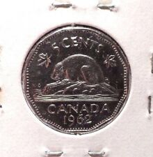 CIRCULATED 1962 5 CENT CANADIAN COIN!!