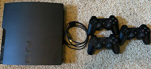 Sony PlayStation 3 PS3  Console  3 Controllers Cech-3001b