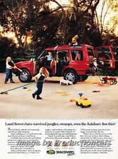 1994 Land Rover Discovery - Original - Advertisement Print Art Car Ad J772