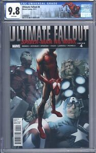 Ultimate Fallout #4 CGC 9.8 Stunning Book! 1st Print 1st App of Miles Morales