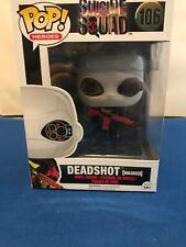 DC Heroes Suicide Squad Deadshot Masked Funko POP Toy Vinyl Figure 106