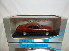 MINICHAMPS 3408 MERCEDES BENZ 300 CE COUPE - ALMANDIN RED 1:43 - GOOD IN BOX
