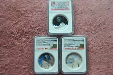 2016, Canada, $20, NGC, Universe Coin set, PF70 UC, Early Releases