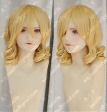 New Young plum Rozen Maiden/MEIRA Blonde curly cosplay Wig+free wigs cap