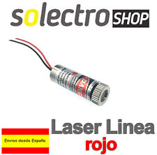 650nm 5mW Rojo Linea Red Laser Line Module Focus Adjustable Laser Head 5V M0039