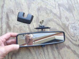 Volvo 740 760 780 940 960 S90 V90 Interior Rear View Mirror OEM W/ trim  1369540