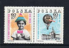 POLAND MNH 1968 SG1832-1833 75 YEARS OF POLISH PHILATELY