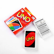 Travel Indicate Fun Toy Standard 108 UNO Playing Cards Game For Family Friend