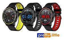 """PrettyLittle L8 Smart Watch 1.2"""" Touch Screen IP68 Waterproof Fitness Tracker"""