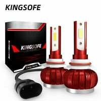 CREE 9005 HB3 LED Headlight Kit 100W Bulbs 6000K White High Beam Globe Headlamp