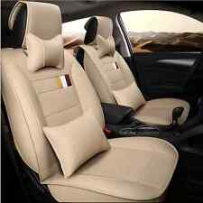 Cream Beige Leather Car Seat Cover Waterproof Lexus IS250 RX350 IS RX GS CT200h