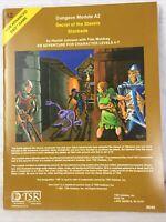 D&D Dungeons & Dragons Module A2 Secrets of the Slavers Stockade TSR 9040
