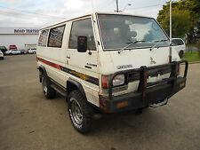 Mitsubishi 1983 SC L300 4x4 2.6 Litre Manual Van Front Bull Bar S/N# V6819