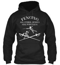 Fencing Other Sports T Gildan Hoodie Sweatshirt