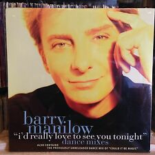 "[ROCK/POP]~SEALED 12""~BARRY MANILOW~I'd Really Love To See You Tonight~Could It"