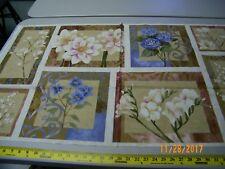 "SERENADE 60758  PANEL 24"" X 44""   100%  Cotton Fabric"